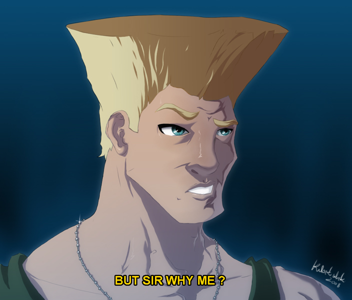 I dunno Guile, I just need to draw something.