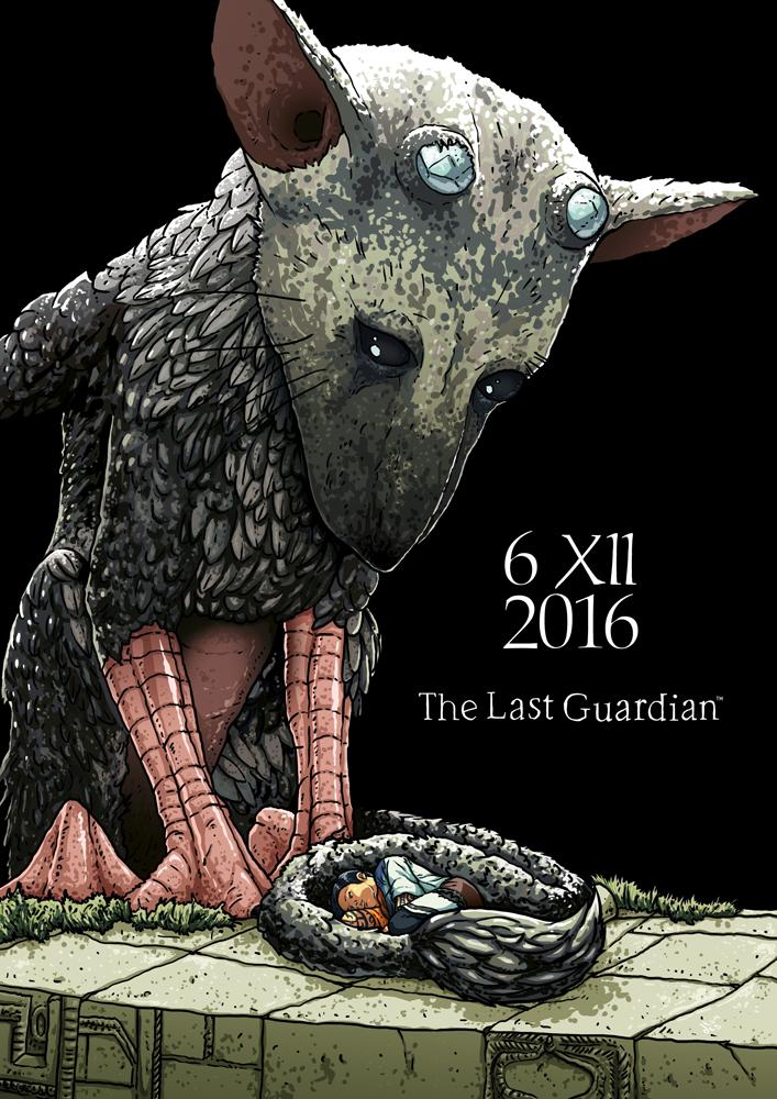 The Last Guardian - praca konkursowa