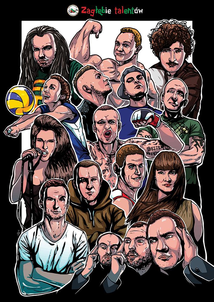 Ilustracja dla Zagłębie Talentów