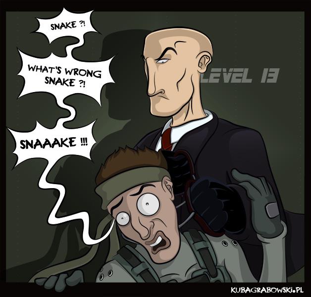 Cichy Snake - Tribut dla IO i Konami