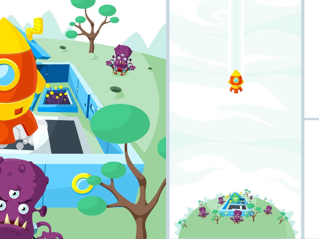 Fragmenty animacji do gry dla Titanis.