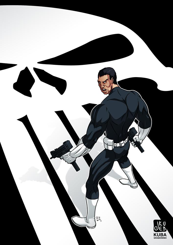 Punisher - klasyczny.