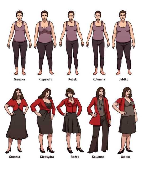 Typy figury. Ilustracje dla IMS.