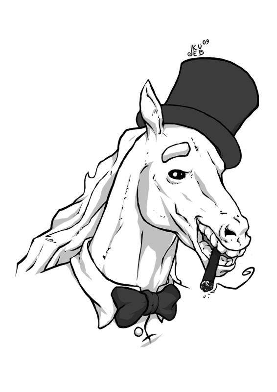 Człowiek koń 1