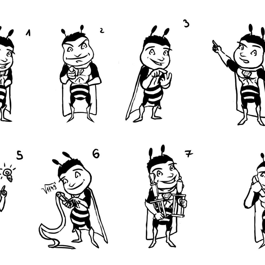 Amazing Bee.