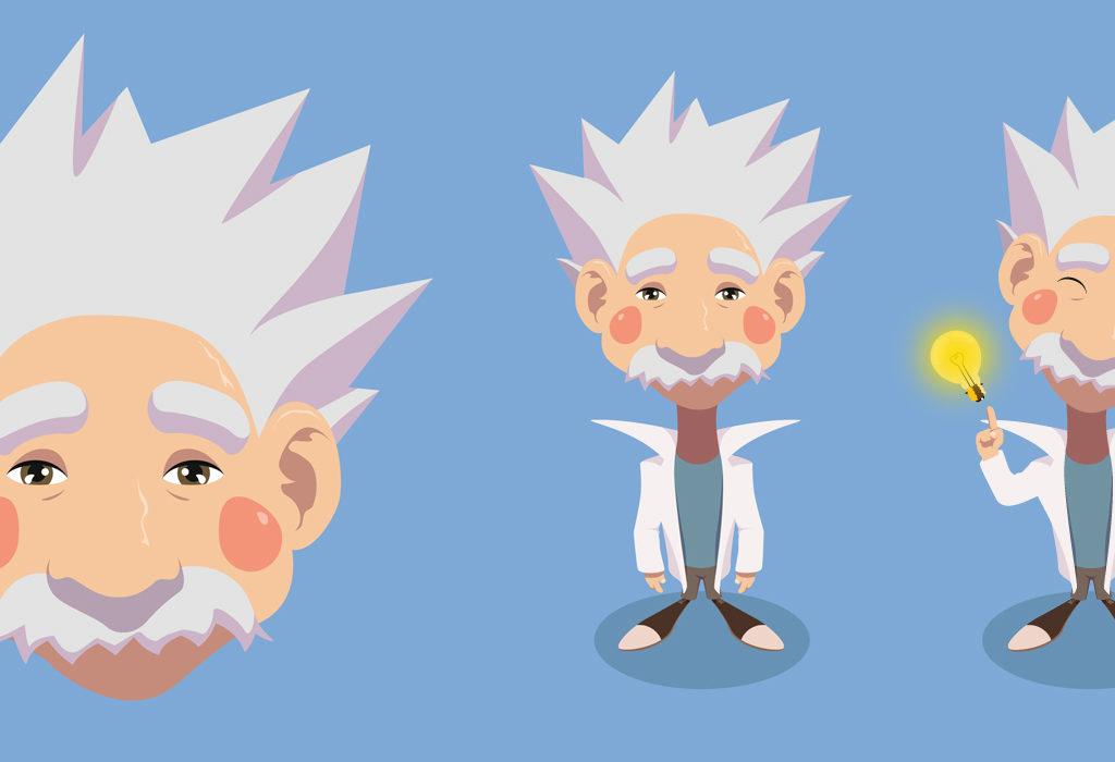 Mózgowiec. Koncept postaci na potrzeby animacji dla IMS.