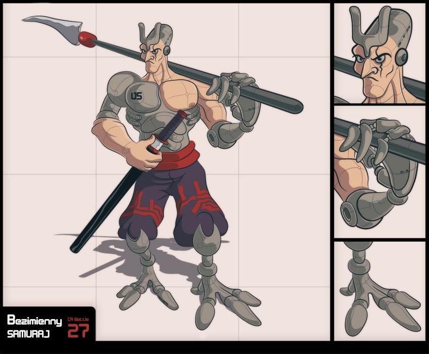 Bezimienny samuraj - postać na bitwę CAB#27.