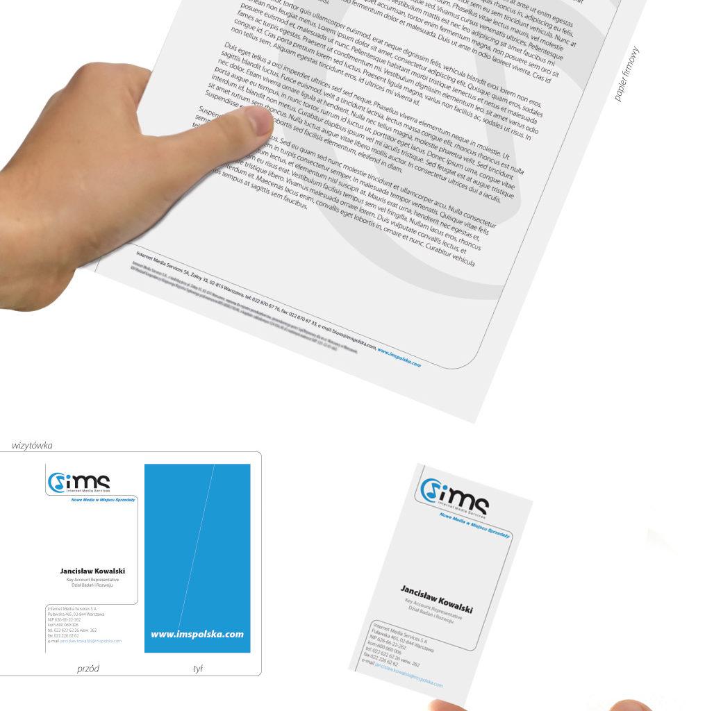 Redesign logo i Ci dla IMS.
