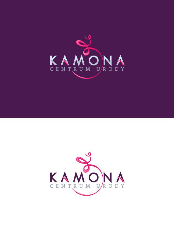 Logo salonu urody Kamona.