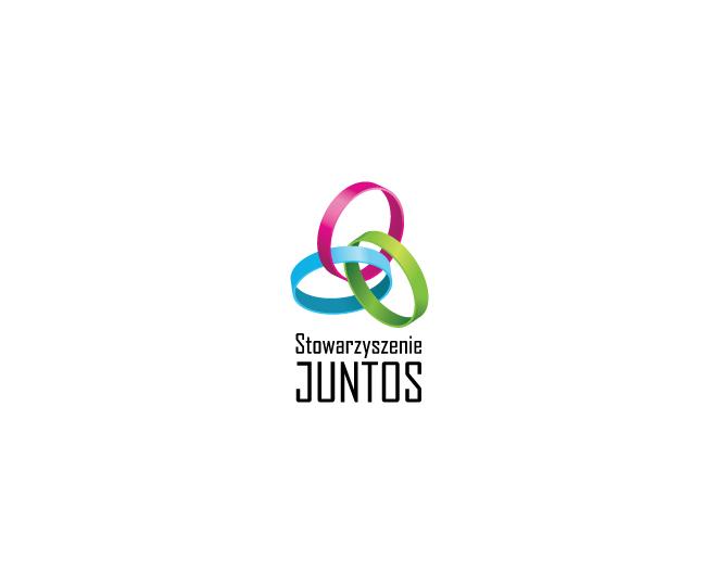 Logo dla Stowarzyszenia na rzecz pomocy osobom po urazach rdzenia kręgowego Juntos.