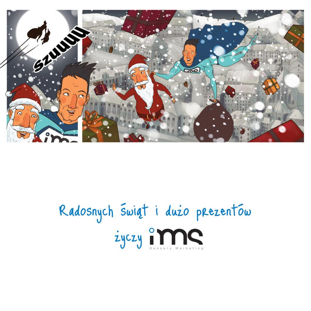 3 z 3 planszy do animacji świątecznej dla IMS