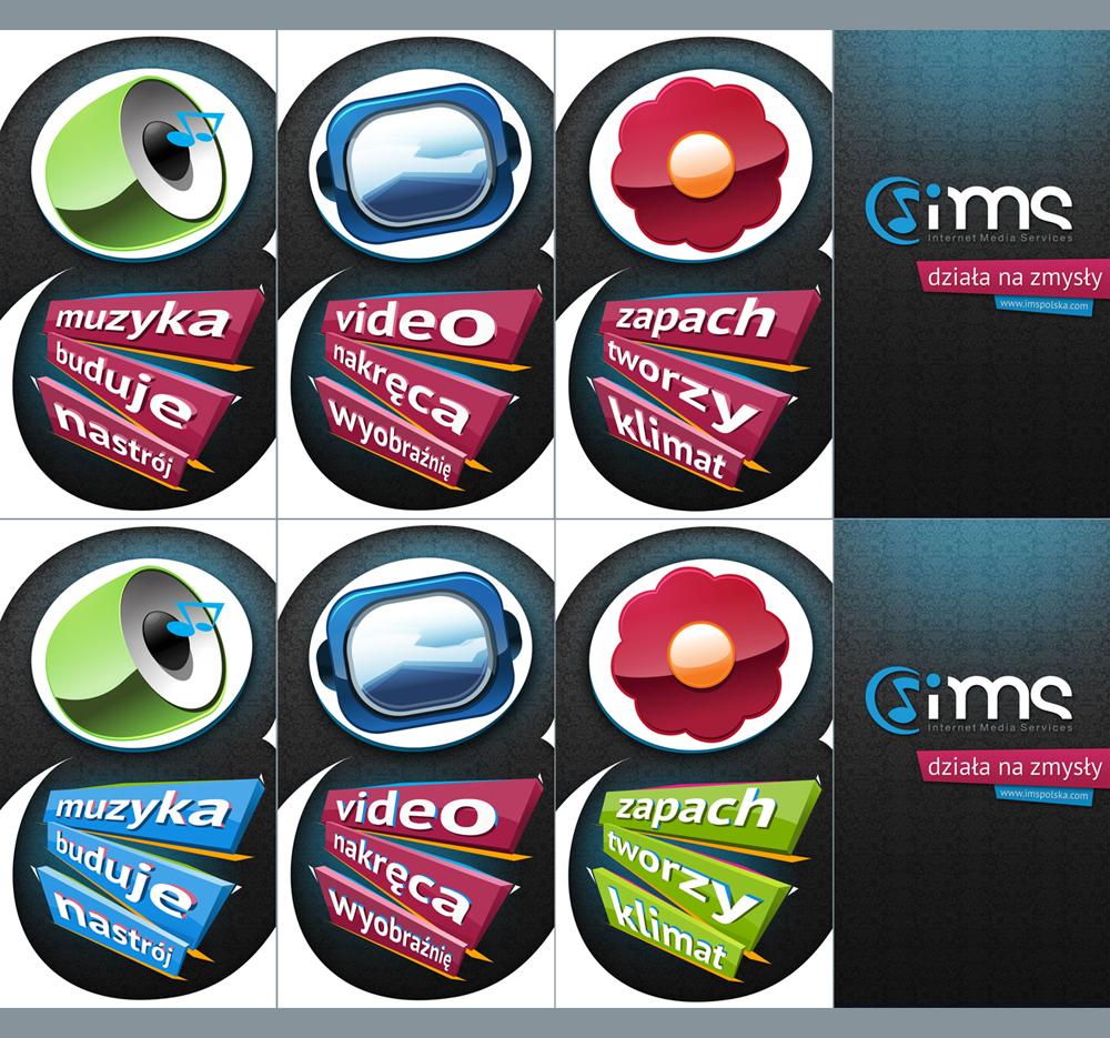 Plakaty pod animacje do spotu dla IMS.