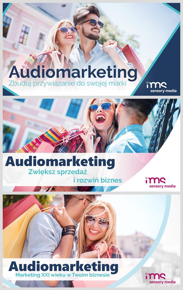3 reklamy do internetu dla IMS S.A.