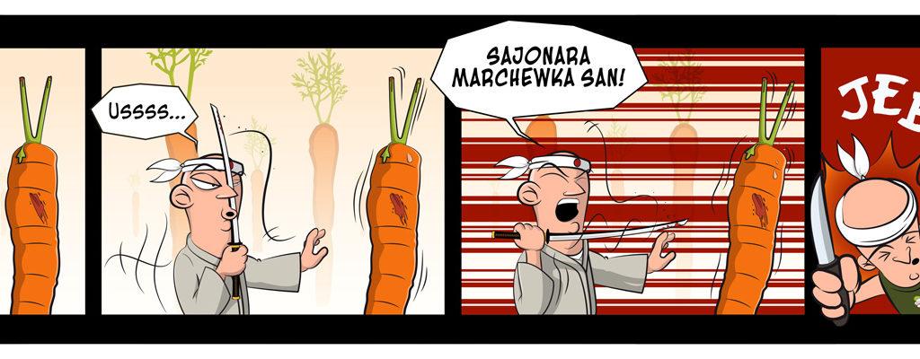 "Bez Sensu #08 - ""Marchewka"""