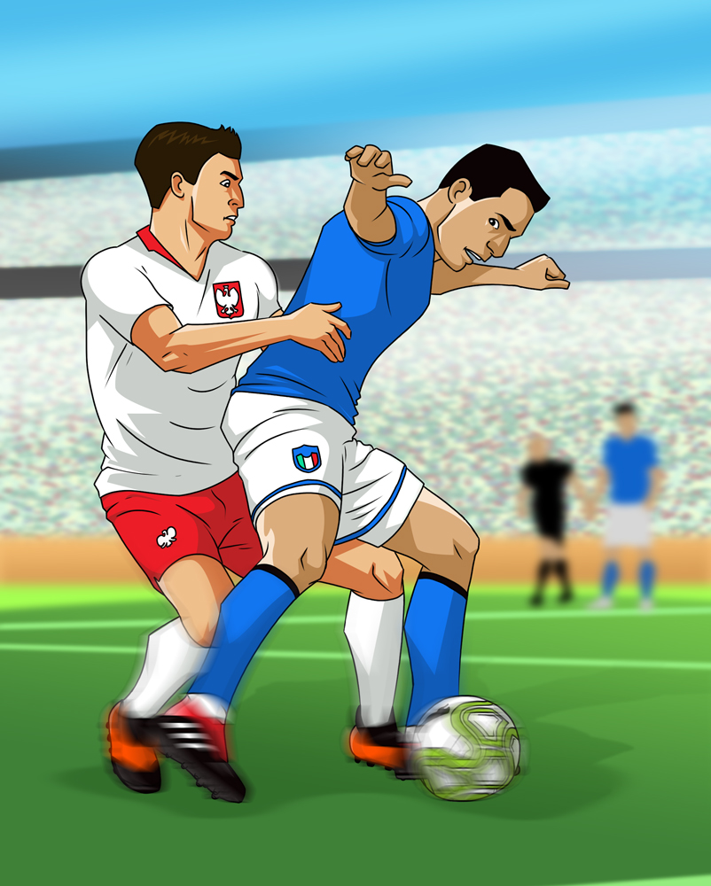 Ilustracja dla agencji reklamowej MacGraf