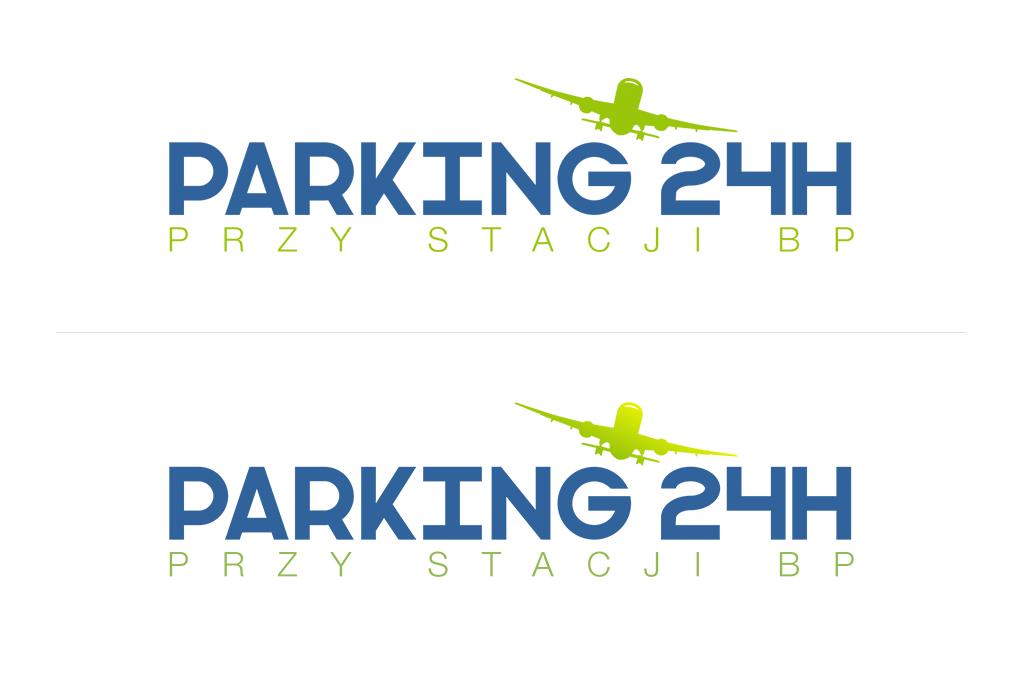 Projekt Logo dla Parking Pyrzowice.