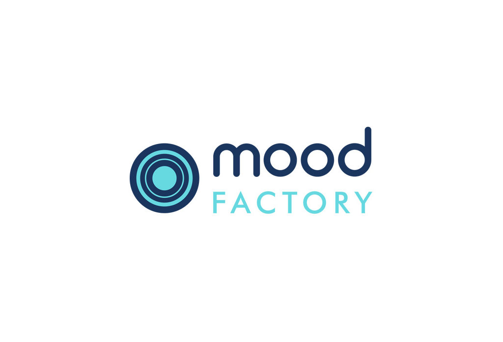 Logo dla Mood Factory. Marketing sensoryczny.