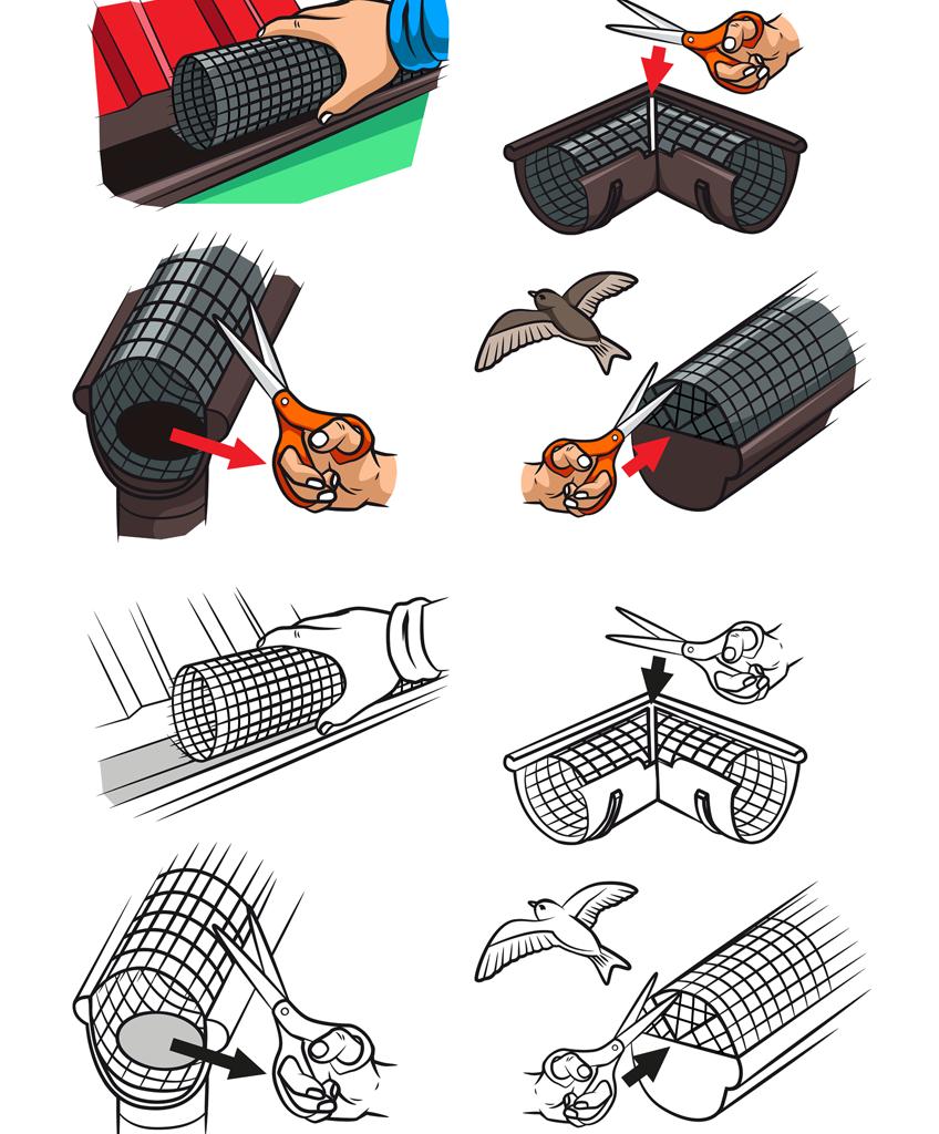 Ilustracje instruktażowe dla NOVMAX.